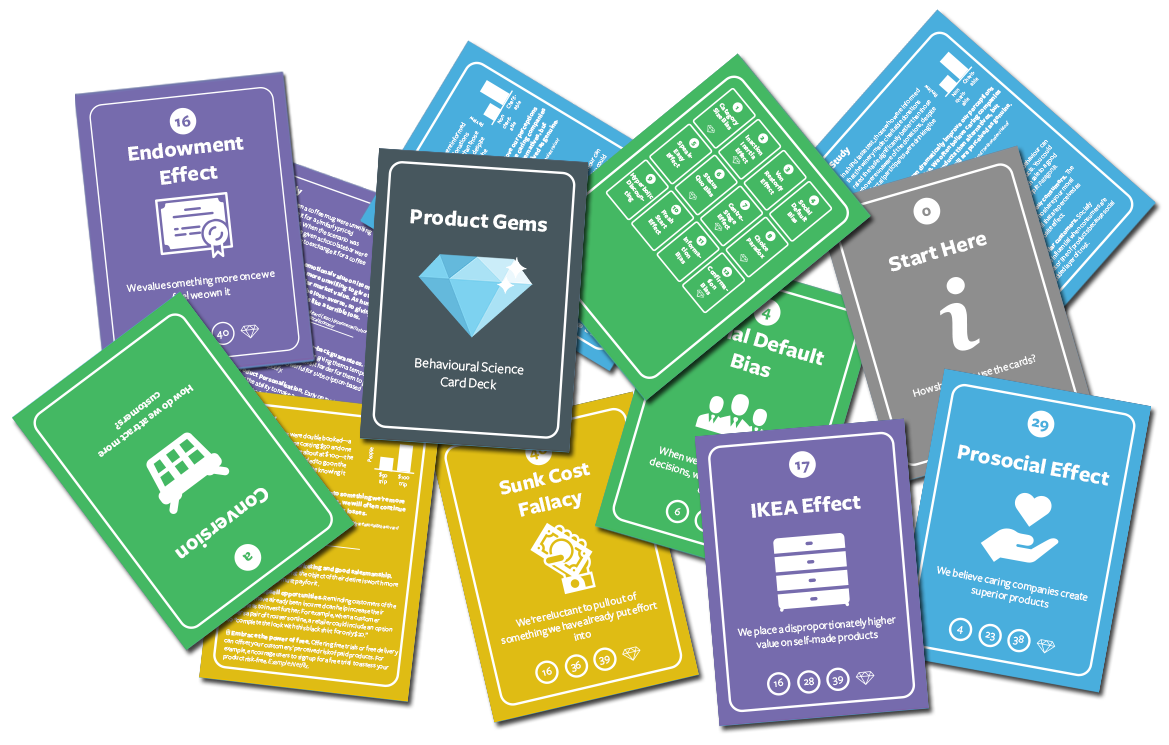 Product Gems Consumer Behaviour Card Deck